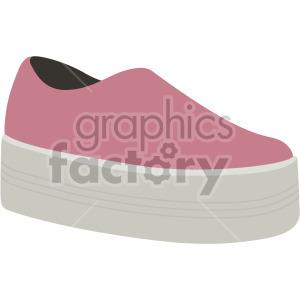 platform shoes clipart. Commercial use image # 408136
