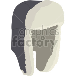 trapper hat no background clipart. Commercial use image # 408178