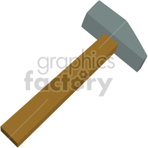 sledge hammer no background clipart. Royalty-free image # 408257