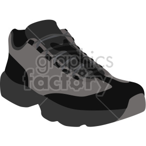 hiking shoe clipart. Commercial use image # 408330