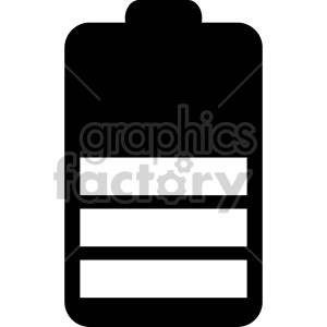 battery icon design clipart. Royalty-free image # 408473