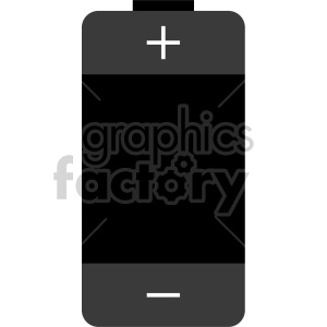 battery icon clipart. Royalty-free image # 408476