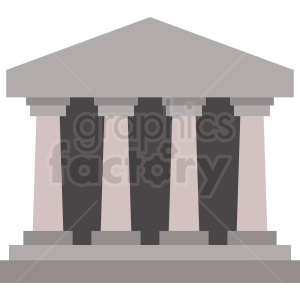 government building vector clipart. Royalty-free image # 408553