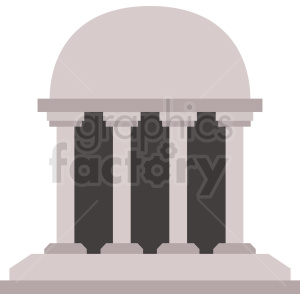 government capital building vector icon clipart. Royalty-free image # 408556