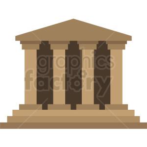 pillars vector icon design