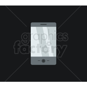 smartphone device vector design on black background clipart. Royalty-free image # 408693
