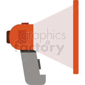 megaphone vector icon clipart. Commercial use image # 408713