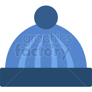 blue beanie hat icon clipart. Royalty-free icon # 408731