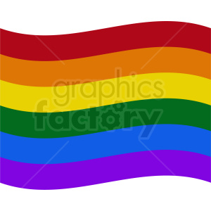rainbow flag icon no border clipart. Royalty-free image # 408778
