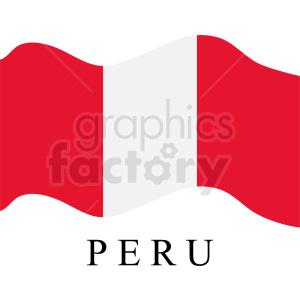 peru flag icon clipart. Royalty-free image # 408828