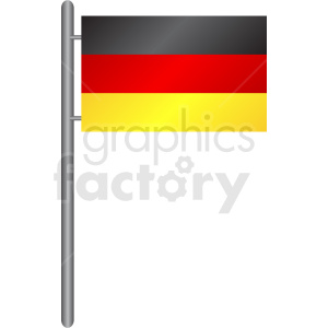 germany flag icon clipart. Royalty-free image # 408838