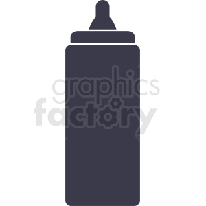 ketchup bottle design clipart. Royalty-free image # 408883