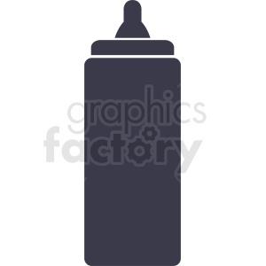 ketchup bottle design clipart. Commercial use image # 408883