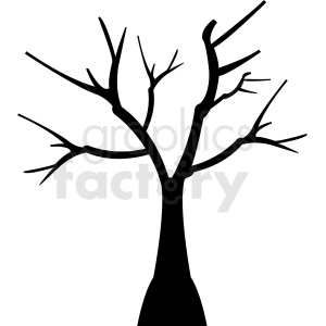 tree design without leaves clipart. Royalty-free image # 408928