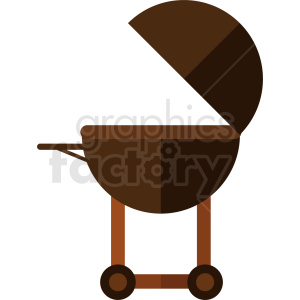vector open grill flat icon design no background clipart. Royalty-free image # 408993