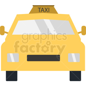 taxi vector clipart. Royalty-free image # 409131