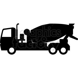 cement truck vector design