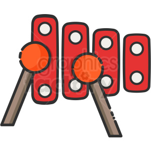 xylophone icon clipart. Commercial use icon # 409173