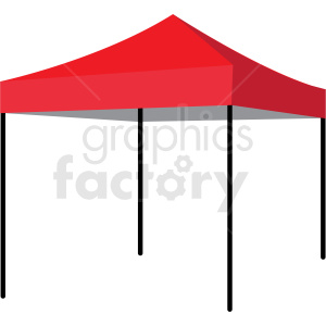 food tent clipart. Royalty-free image # 409239