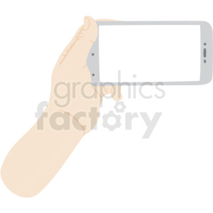 one hand holding phone vector clipart no background clipart. Royalty-free image # 409436
