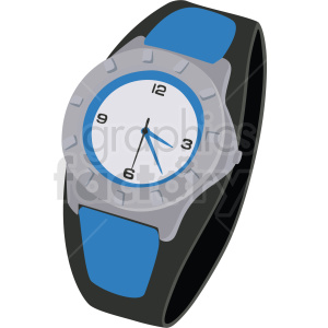 mens watch no background clipart. Royalty-free image # 409487