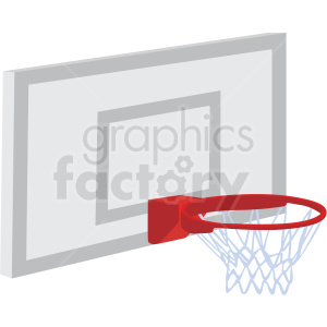 basketball hoop vector clipart clipart. Commercial use image # 409537