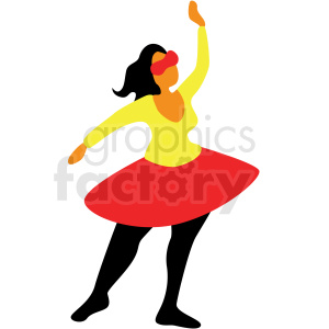 woman acting vector clipart clipart. Royalty-free image # 409649