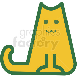 cat vector icon clipart clipart. Royalty-free image # 409681