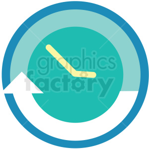 watch timer icon clipart. Royalty-free image # 409718