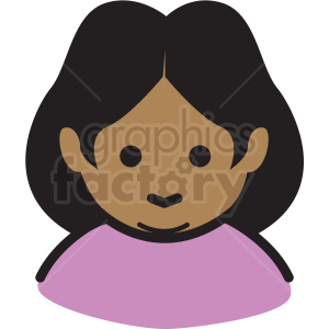 grandma avatar vector clipart clipart. Royalty-free image # 409768