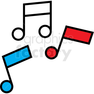 music notes icon animation. Commercial use animation # 409932