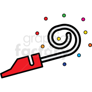 noise maker icon clipart. Commercial use image # 409946