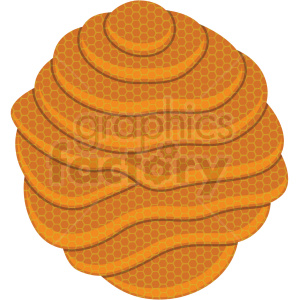 layers of honeycomb vector clipart no background clipart. Commercial use image # 410071