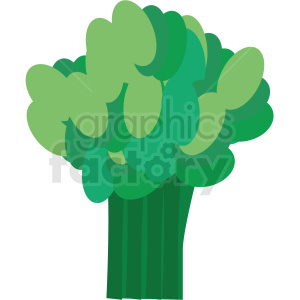 broccoli vector icon clipart. Commercial use image # 410126