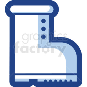 boot vector icon no background clipart. Commercial use image # 410191