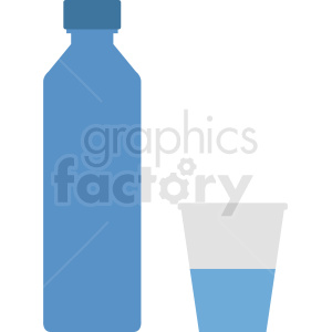 water container with cup vector clipart clipart. Royalty-free image # 410343