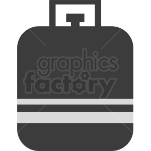 propane tank vector no background clipart. Commercial use image # 410372