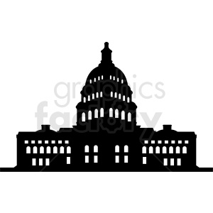 white house vector design clipart. Commercial use image # 410392