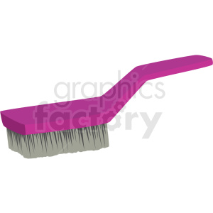 scrub brush vector clipart clipart. Commercial use image # 410548