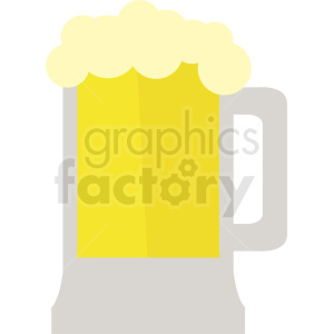 vector beer icon clipart. Royalty-free image # 410710
