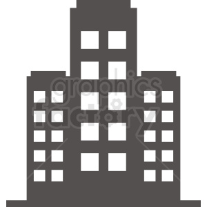 office building vector clipart clipart. Commercial use image # 410765