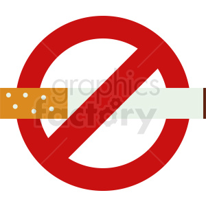 no smoking vector clipart. Royalty-free image # 410849