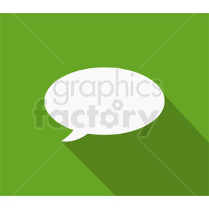 speech bubble vector clipart clipart. Royalty-free image # 410861