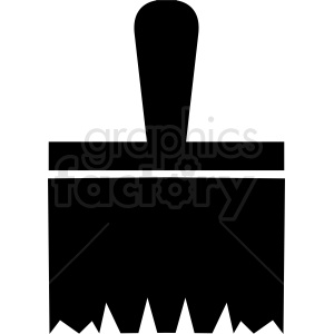 paint brush vector clipart icon