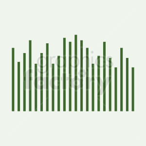 green statistics chart vector icon on background clipart. Commercial use image # 411017