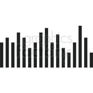 statistics bar chart vector icon clipart. Royalty-free image # 411037