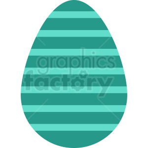 stripped easter egg vector clipart clipart. Royalty-free image # 411047