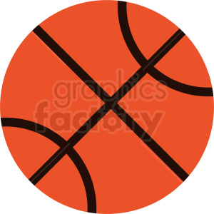 backetball vector icon clipart. Commercial use image # 411094