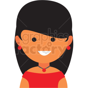 female actor icon vector clipart clipart. Commercial use image # 411551