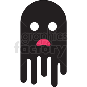 day of the dead ghost vector clipart